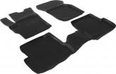 Глубокие резиновые коврики в салон Mazda 3 2003-2013 L.Locker
