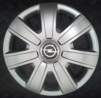 SKS (с эмблемой) Колпаки Opel 325 R15 (Комплект 4 шт.)