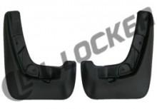 Брызговики передние MG 5 hatchback (12-) L.Locker
