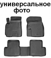 Глубокие резиновые коврики в салон MG 550 L.Locker