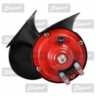 Elegant Звуковой сигнал 12V «улитка» красно-черный EL 100 720