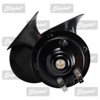 Elegant Звуковой сигнал 12V «улитка» черный EL 100 740