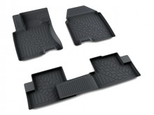 Резиновые глубокие коврики Nissan Qashqai 2006-2014