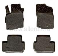 Резиновые глубокие коврики Mitsubishi Lancer X SOFT