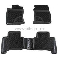 Aileron Резиновые глубокие коврики Toyota LC 120