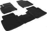 Глубокие резиновые коврики в салон Nissan Qashqai+2 L.Locker