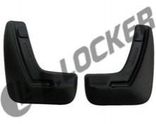 Брызговики задние Opel Astra H sedan L.Locker