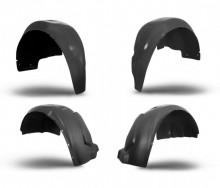 Защита колёсных арок Fiat Doblo 2005-2015 (две боковых сдвижных двери)