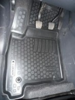 Глубокие резиновые коврики в салон Opel Meriva (02-) L.Locker