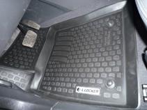 L.Locker Глубокие резиновые коврики в салон Opel Vectra C