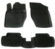 L.Locker Глубокие резиновые коврики в салон Peugeot 408