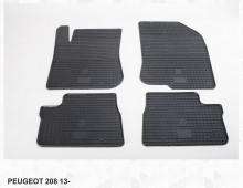 Stingray Резиновые коврики Peugeot 208 2008 12-