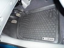 L.Locker Глубокие резиновые коврики в салон Renault Kangoo (98-) передние