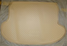 Резиновый коврик в багажник Infinity QX 70 FX 08-13- БЕЖЕВЫЙ