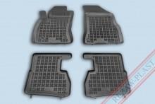 Резиновые коврики глубокие Fiat Doblo 2010-