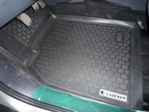 Глубокие резиновые коврики в салон Renault Megane II L.Locker