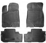 Резиновые коврики Toyota Highlander 2013-
