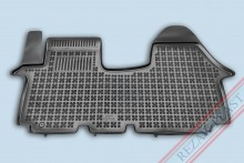Резиновые коврики глубокие Renault Trafic, Opel Vivaro, Nissan Primastar 2001-2015 Rezaw-Plast