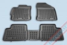 Резиновые коврики глубокие Toyota Auris 2012- Rezaw-Plast