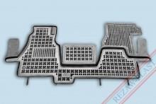 Резиновые коврики глубокие Mercedes Sprinter 2000-2006 Rezaw-Plast
