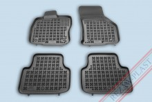 Резиновые коврики глубокие Skoda Octavia A7 Rezaw-Plast