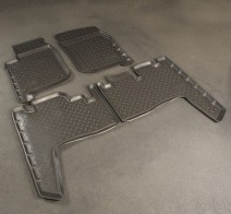 Резиновые коврики Toyota Land Cruiser 76
