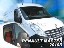 Ветровики Renault Master 2010- Opel Movano 2010- ВСТАВНЫЕ Heko