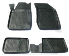 L.Locker Глубокие резиновые коврики в салон Renault Symbol Clio sedan