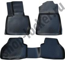 Глубокие резиновые коврики в салон BMW X3 (F25) 2010-
