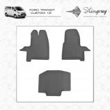 Резиновые коврики Ford Tranzit Custom 2012- Stingray