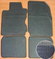 Резиновые коврики Nissan Note 2006-2014
