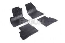 Резиновые коврики Fiat Doblo 10- Doblo Cargo 10- Opel Combo 11- Rigum