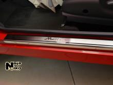 Nataniko Накладки на пороги Daewoo Matiz (Premium)