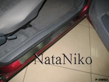 Nataniko Накладки на пороги Daewoo Nexia (Premium)