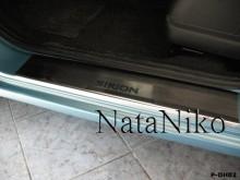 Nataniko Накладки на пороги Daihatsu Sirion