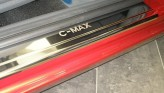 Nataniko Накладки на пороги Ford C-Max 2002-2010 (Premium)