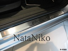 Nataniko Накладки на пороги Fiat Bravo (Premium)