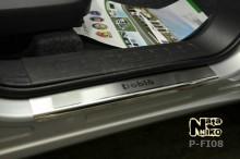 Nataniko Накладки на пороги Fiat Doblo 2010-2015- (Premium)