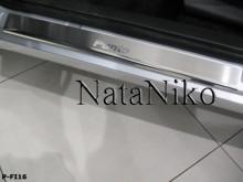 Nataniko Накладки на пороги Fiat Punto Evo 5D
