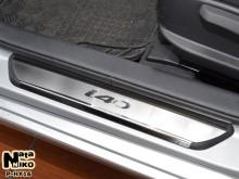 Nataniko Накладки на пороги Hyundai i40 (Premium)