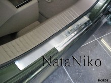 Nataniko Накладки на пороги Jeep Compass 2007-2011- (Premium)