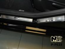 Nataniko Накладки на пороги Peugeot 408 5D