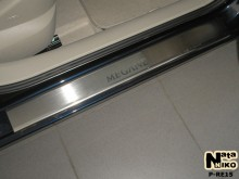 Nataniko Накладки на пороги Renault Megane 2002-2009 (Premium)