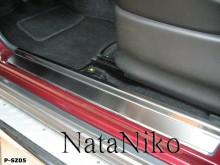 Nataniko Накладки на пороги Suzuki Jimny (Premium)