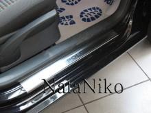 Nataniko Накладки на пороги Volkswagen Polo 3D 2009-
