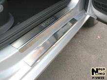 Nataniko Накладки на пороги Volkswagen Polo 4-5D 2009-