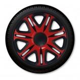 Колпаки Nascar Red-Black R13 (Комплект 4 шт.) J-TEC (Jacky)