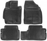 L.Locker Глубокие резиновые коврики в салон Toyota Corolla Auris 2007-2013