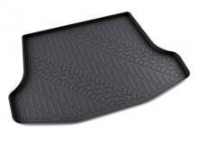 Резиновый коврик в багажник Nissan Tiida sedan