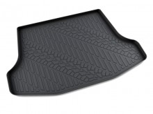 Резиновый коврик в багажник Nissan Tiida sedan АГАТЭК